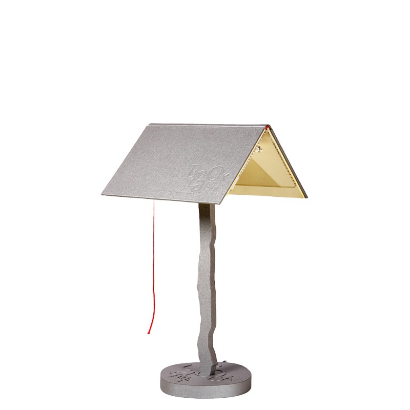 luján + sicilia 04 BOOKLAMP LED Table Lamp Silver