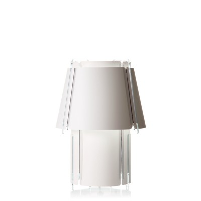 lujan + sicilia 08 ZONA Medium Sized Table Lamp White