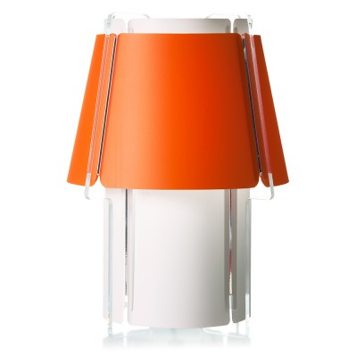 lujan + sicilia 10 ZONA Floor Lamp Orange