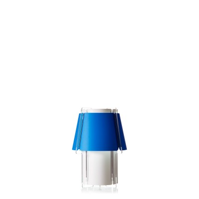 lujan + sicilia 14 ZONA Small Table Lamp Blue