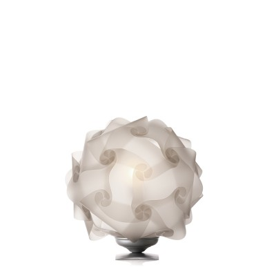 luján + sicilia Medium Sized 42 cm COL Modular Table Lamp Translucid