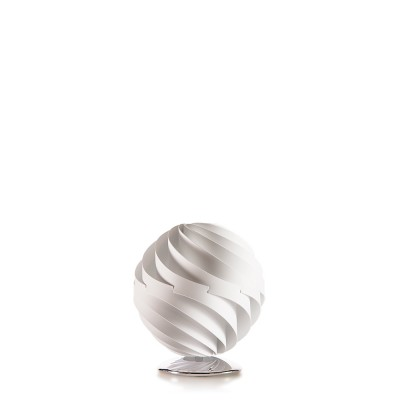 lujan + sicilia Small 27 cm TWISTER Table Lamp White