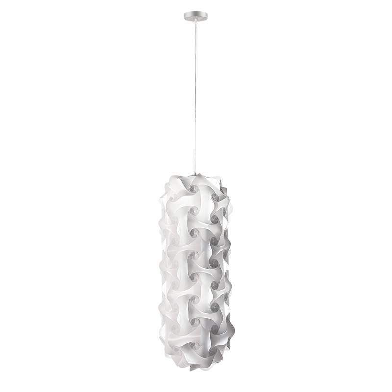 luján + sicilia 08 Small 74 cm QUISCO Modular Drop Pendant Lamp White