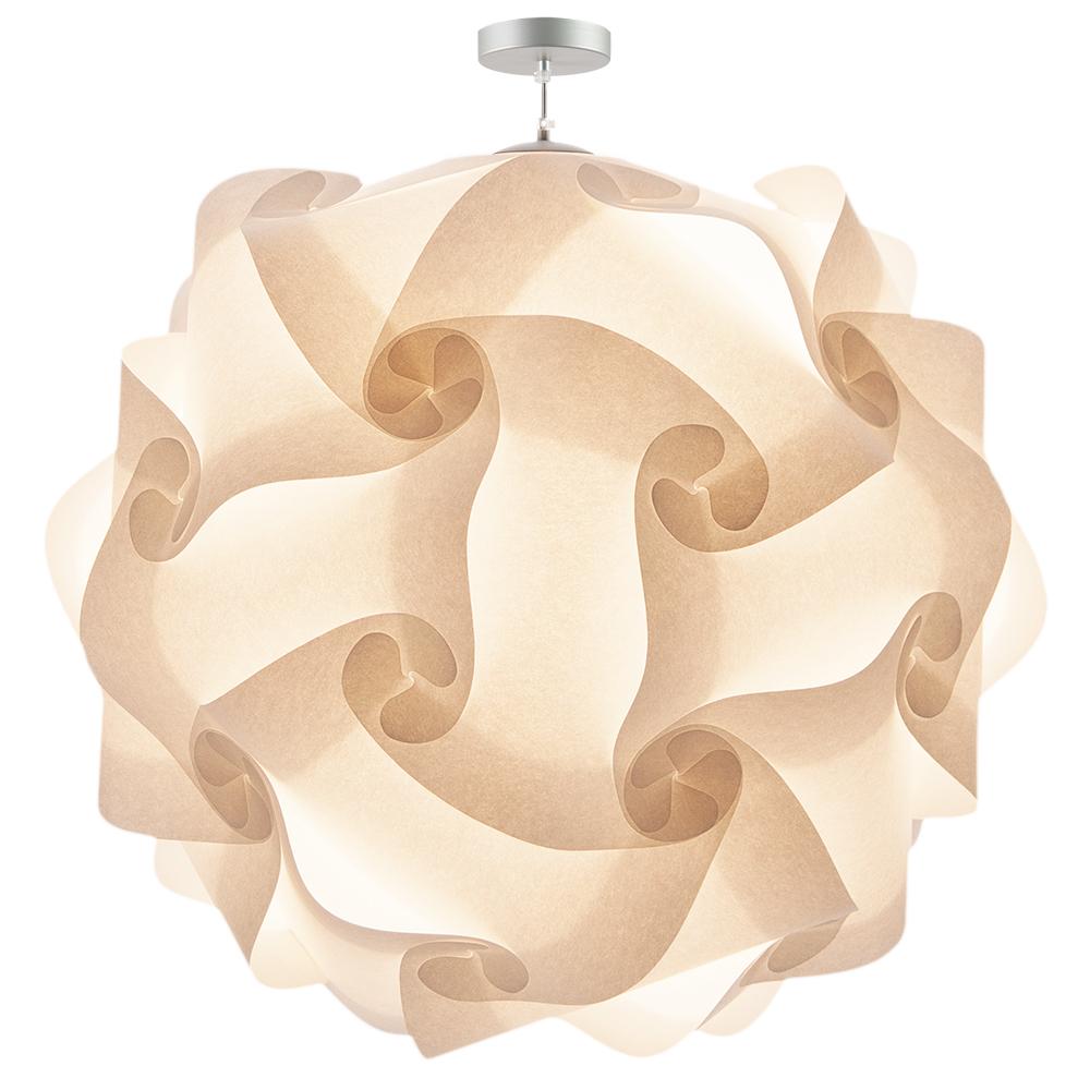 Col 100 pendant lamp lujn sicilia lujan sicilia col 100 oversized pendant lamp white parchment paper lampara gigante techo colgante papel aloadofball Images