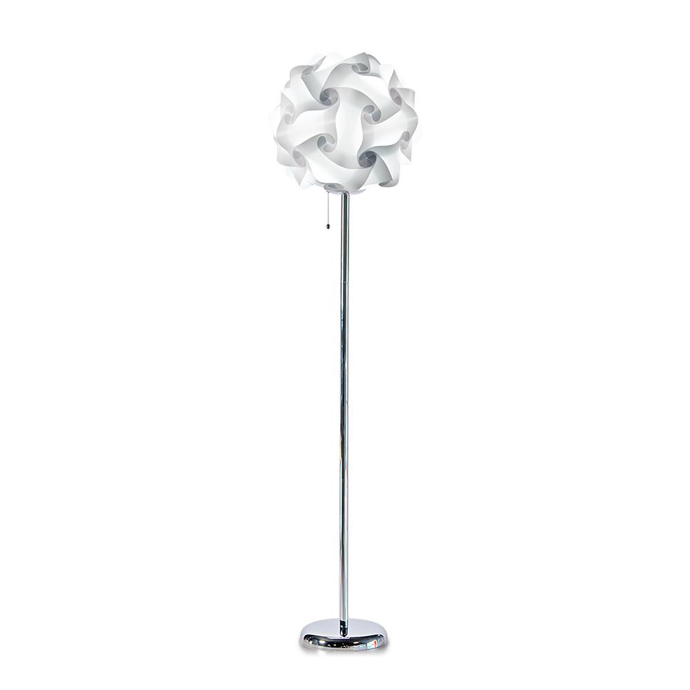 lujan + sicilia COL 42 Floor Stand Lamp White