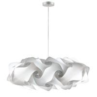 lujan + sicilia 08 Large 95 cm NUBE Modular Drop Pendant Lamp White