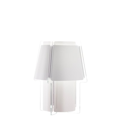 lujan + sicilia Large ZONA Wall Sconce Lamp White