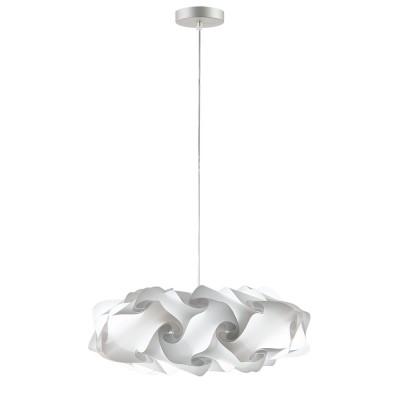 lujan + sicilia 08 Small 60 cm NUBE Modular Drop Pendant Lamp White