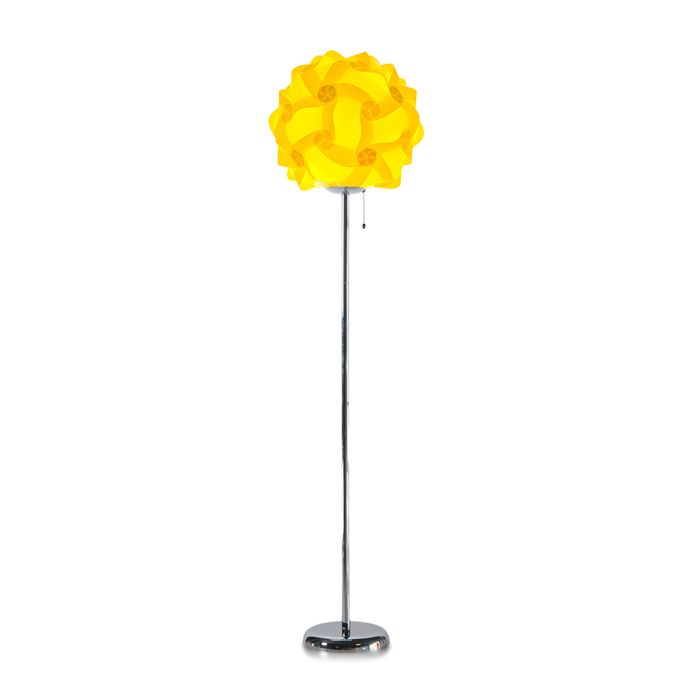 lujan + sicilia COL 42 Floor Stand Lamp Yellow