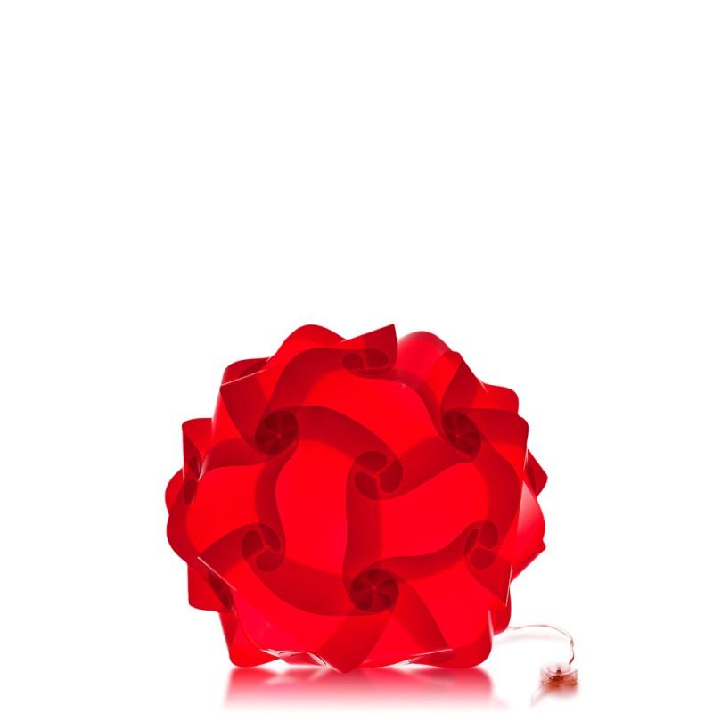 lujan + sicilia COL 70 Modular Floor Lamp Red