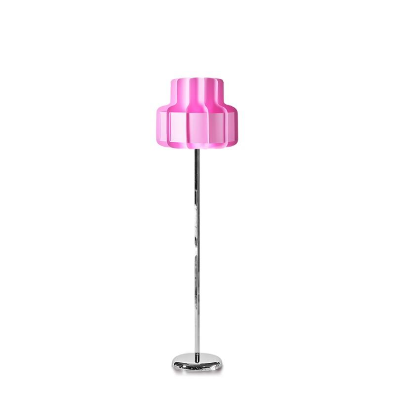 lujan + sicilia BANDA Floor Lamp Pink