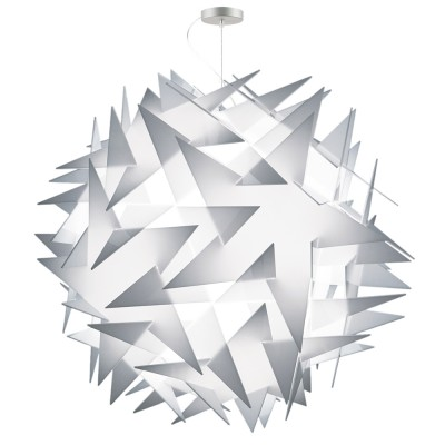 lujan + sicilia BISOLITE 130 Drop Pendant White Opal Lamp