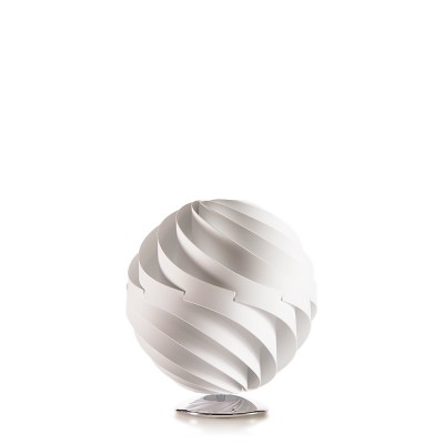 lujan + sicilia Large 35 cm TWISTER Table Lamp White