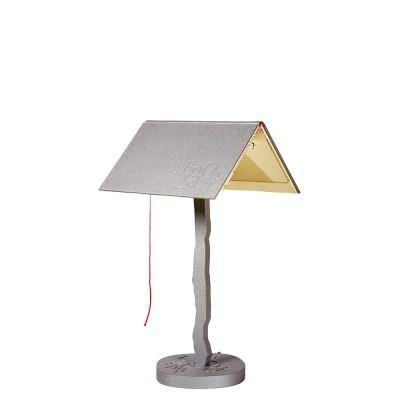 luján + sicilia 04 BOOKLAMP LED Table Lamp Silver