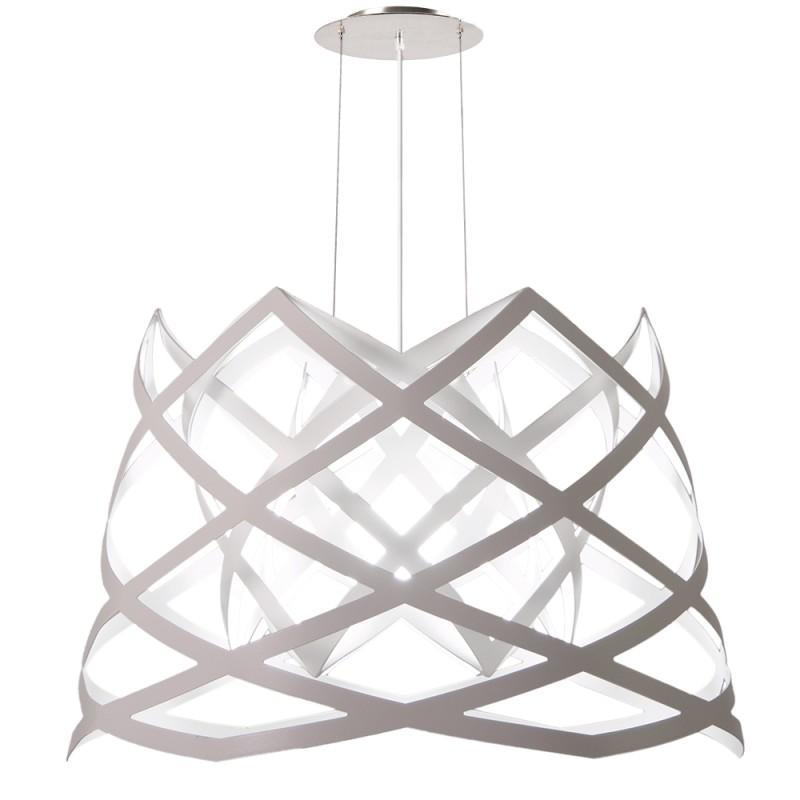 lujan + sicilia RUT Large Drop Pendant Lamp White