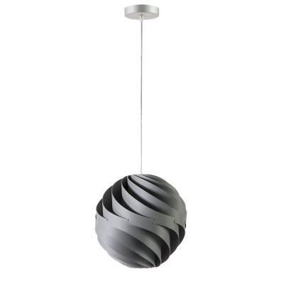 lujan + sicilia TWISTER 27 concrete grey mini drop lamp lampara techo gris hormigon pendelleuchte beton grau luminaire gris béton