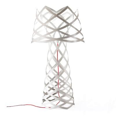 luján + sicilia 04 RUT Floor Lamp White