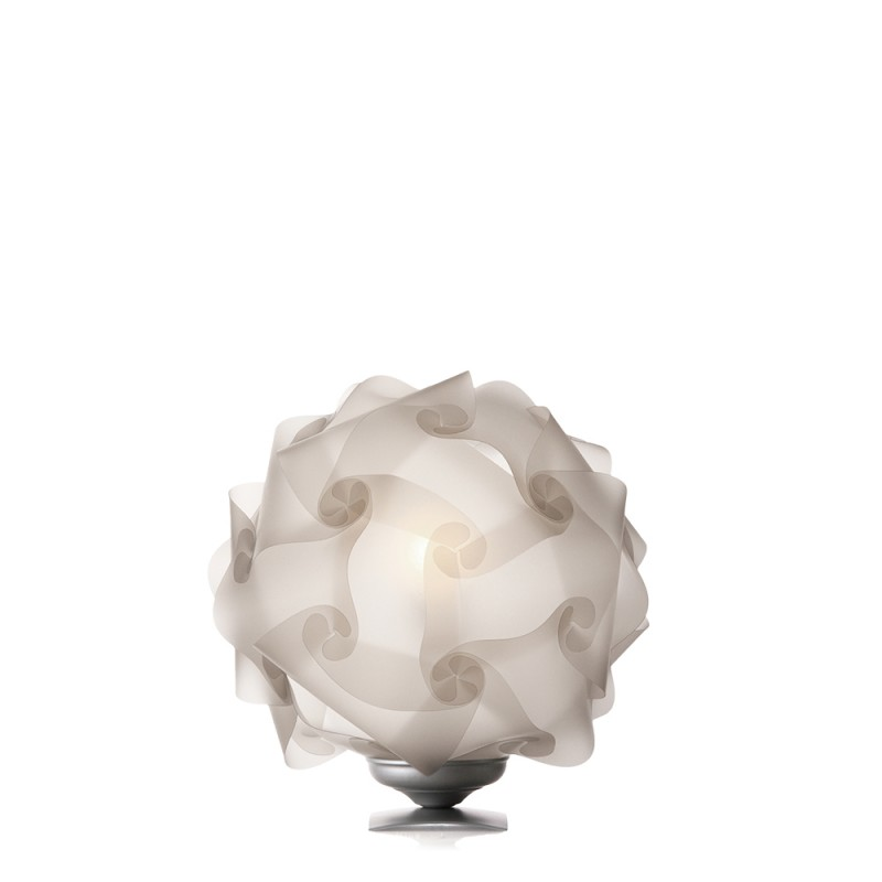 luján + sicilia Medium Sized 42 cm COL Modular Table Lamp Translucid