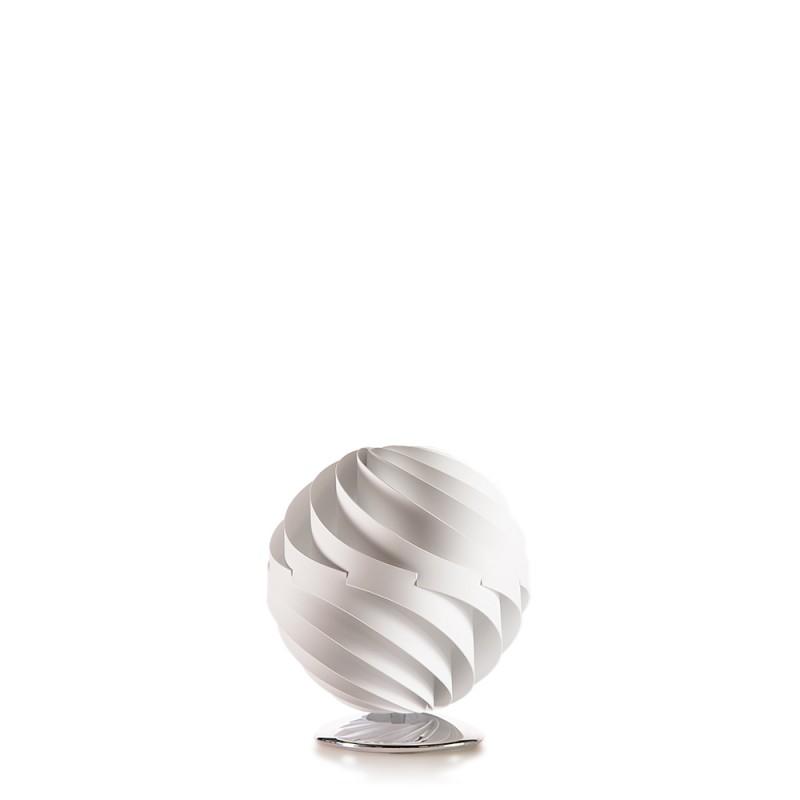 lujan + sicilia Small 27 cm TWISTER Table Lamp White