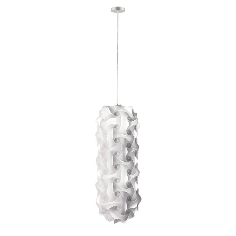 luján + sicilia Small 74 cm QUISCO Modular Drop Pendant Lamp White