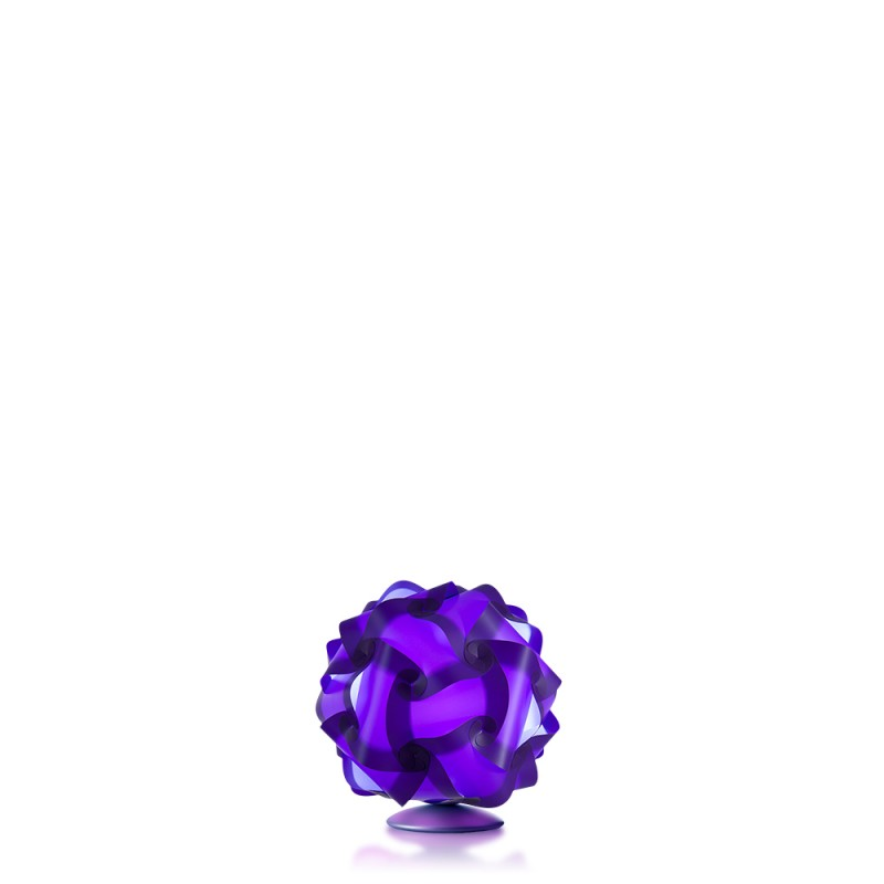 luján + sicilia Small 27 cm COL Modular Table Lamp Purple