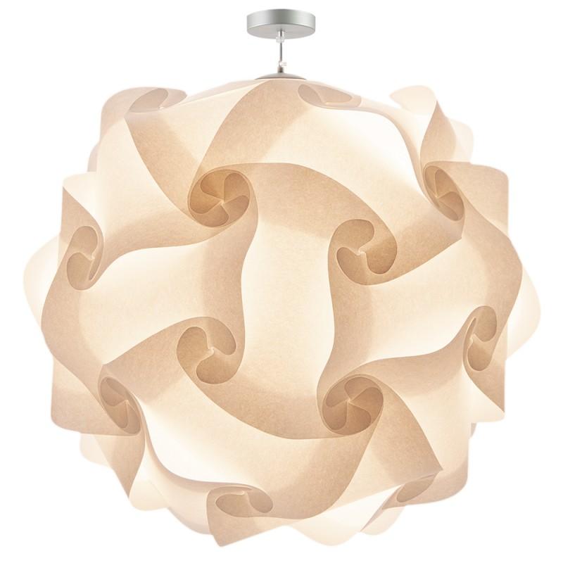 lujan + sicilia XL Extra Large 100 cm COL Modular Pendant Lamp White Parchment Paper