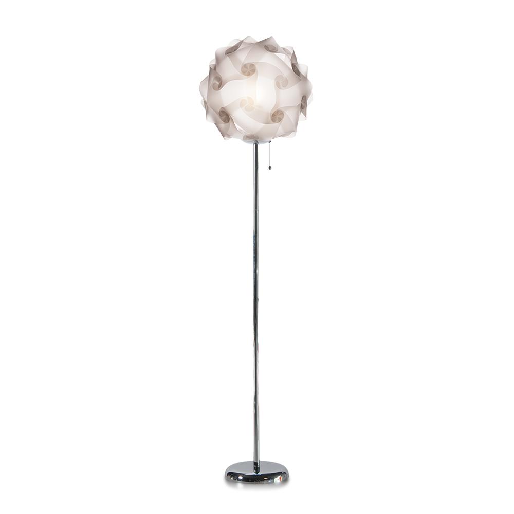 lujan + sicilia COL 42 Floor Stand Lamp Translucid