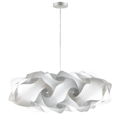 lujan + sicilia Large 95 cm NUBE Modular Drop Pendant Lamp White