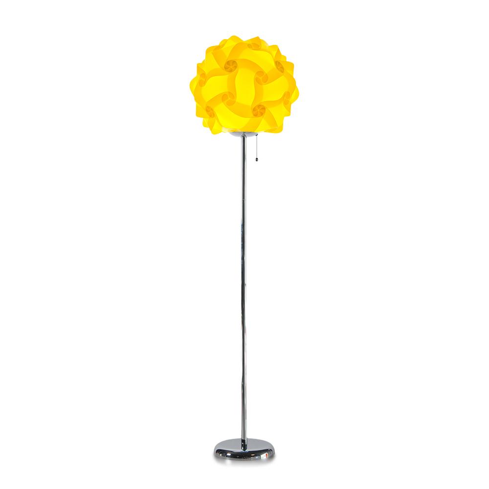 lujan + sicilia COL 42 Floor Stand Lamp Yellow