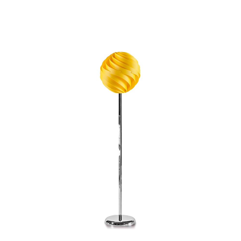 lujan + sicilia TWISTER 35 Floor Lamp Yellow