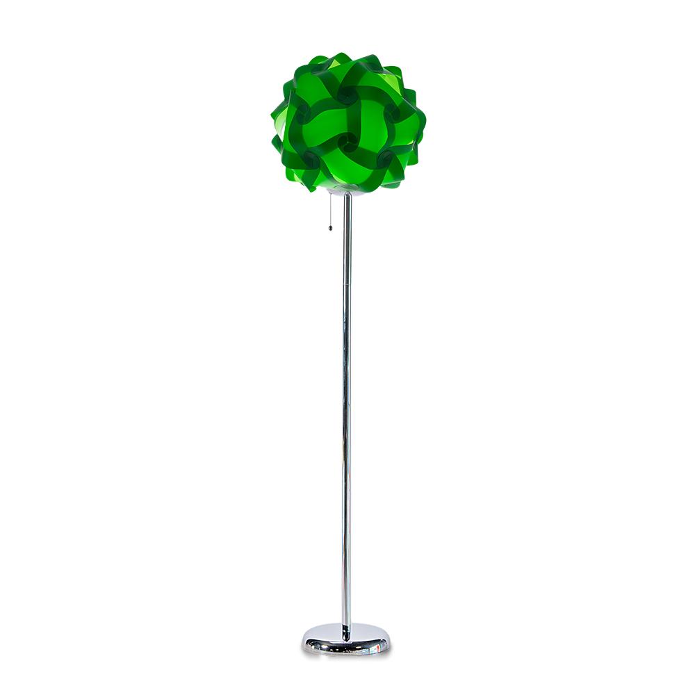 lujan + sicilia COL 42 Floor Stand Lamp Green
