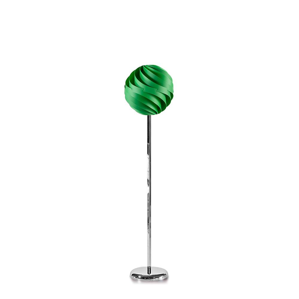 lujan + sicilia TWISTER 35 Floor Lamp Green