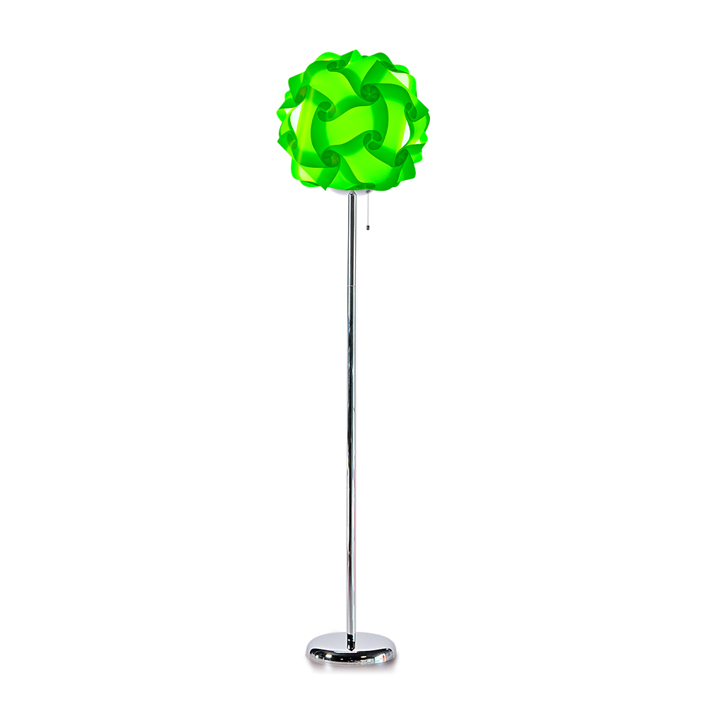 lujan + sicilia COL 42 Floor Stand Lamp Lime Green