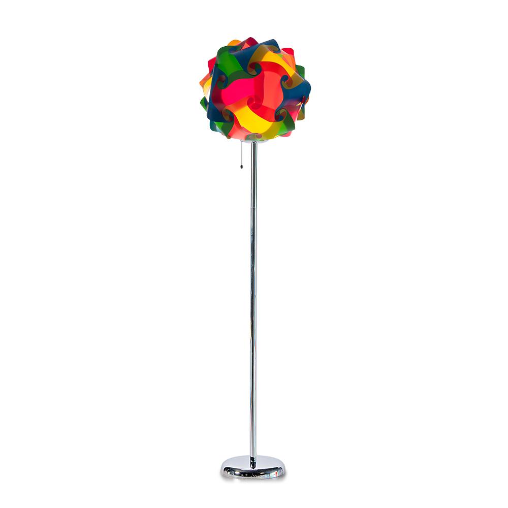 lujan + sicilia COL 42 Floor Stand Lamp Multicolor